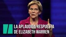 La aplaudida respuesta de Elizabeth Warren a esta pregunta sobre el matrimonio homosexual