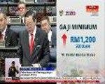 Kerajaan cadang gaji minimum ditingkatkan pada kadar RM1,200 sebulan hanya di wilayah bandar-bandar utama
