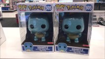 POKEMON SQUIRTLE 10 INCH FUNKO POP AND MORE TARGET EXCLUSIVE FROM WWE,THE JOKER,STAR WARS & MORE