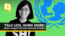 Talk Less, Work More: Teen Climate Activist Ridhima to The Govt