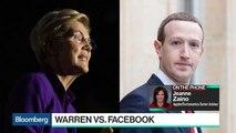 Elizabeth Warren Takes Aim at Facebook's Zuckerberg