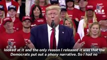 President Trump Rally in Minneapolis, MN