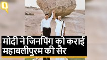 पीएम मोदी बने 'टूरिस्ट गाइड', शी जिनपिंग को कराई महाबलीपुरम की सैर
