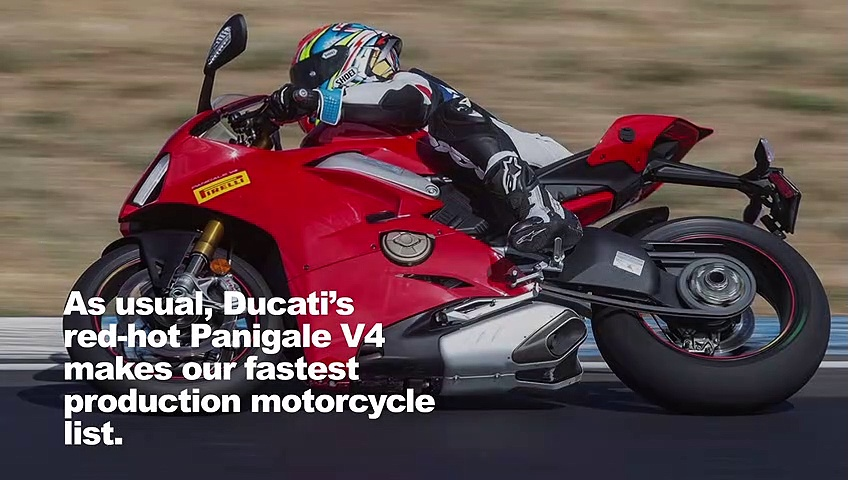 Fastest Production Motorcycles
