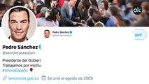 Pedro Sánchez felicita al nuevo Nobel de la Paz con una falta de ortografía