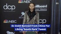 China Bans DJ Zedd For Liking A Tweet
