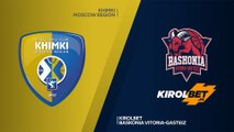 Khimki Moscow region- KIROLBET Baskonia Vitoria-Gasteiz Highlights | Turkish Airlines EuroLeague, RS Round 2