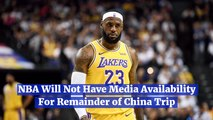 The Update On The NBA In China