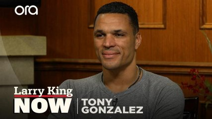 """""""I know people have stories to tell"""": Tony Gonzalez on his new podcast 'Wide Open'"""