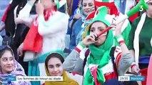 Iran : les femmes peuvent enfin prendre place en tribunes