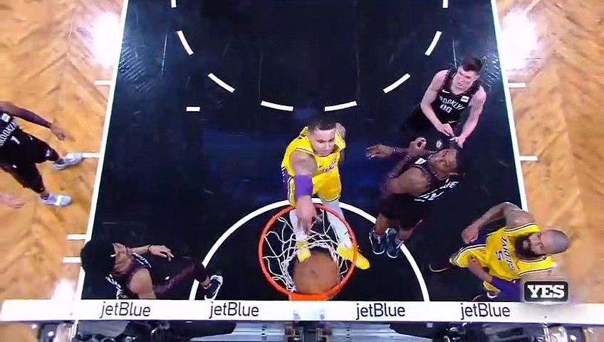 NBA 2018-19 - Los Angeles Lakers vs Brooklyn Nets - 12.18.2018, - Highlights