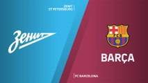 Zenit St Petersburg - FC Barcelona Highlights | Turkish Airlines EuroLeague, RS Round 2