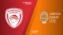 Olympiacos Piraeus - Valencia Basket Highlights | Turkish Airlines EuroLeague, RS Round 2