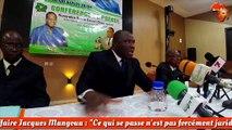 """Affaire Jacques Mangoua : """"Ce qui se passe n'est pas forcément juridique"""" (Gouali Dodo)"""
