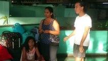 Família venezuelana que chegou a Cascavel terça-feira e segue na rodoviária precisa de ajuda