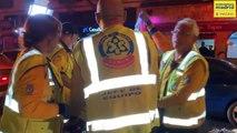 Heridas graves dos personas al ser arrollados por un coche en Aluche