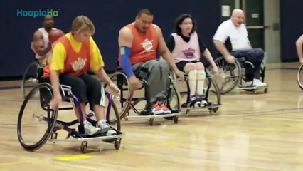 Beyond the Chair- Wheelchair Basketball Drives Paralympic Athlete