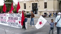 Pro-Kurdish protest takes place in Athens, Greece