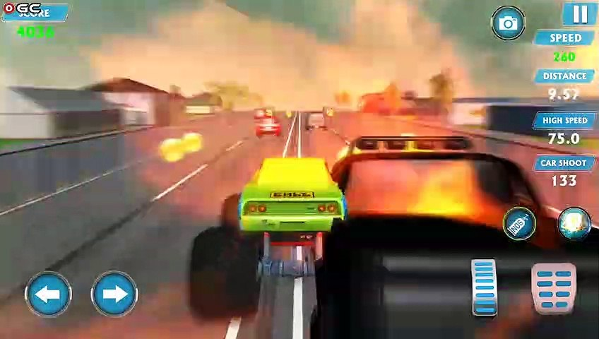 """Monster Truck Racing Games Transform Robot Car Games """"Rainy"""" Android Gameplay Video #3"""