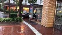 Typhon Hagibis au Japon : des pluies diluviennes à Yokohama