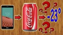 Что будет, если заморозить телефон в Coca-Cola