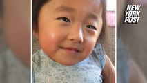 'My heart fell in love!': Sweet girl recalls adoption day to her mom