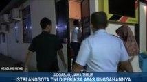 Nyinyiri Wiranto, Istri Anggota TNI AU Diperiksa Polisi