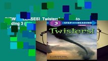 [NEW RELEASES]  Twisters!  Step Into Reading 3 (Step Into Reading - Level 3 - Quality)