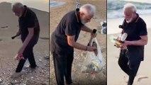 Modi Cleans Mamallapuram Beach, Promotes Plogging || మోదీ జీ.. యు ఆర్ గ్రేట్ !