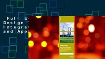 Full E-book  Sustainable Design Through Process Integration: Fundamentals and Applications to