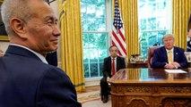 """Estados Unidos y China alcazan un """"amoroso"""" acuerdo comercial parcial"""
