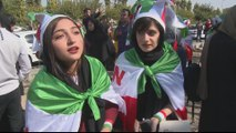 Iran beat Cambodia 14-0 in historic match attended by women
