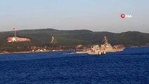 ABD savaş gemisi 'USS Porter' Çanakkale Boğazı'ndan geçti
