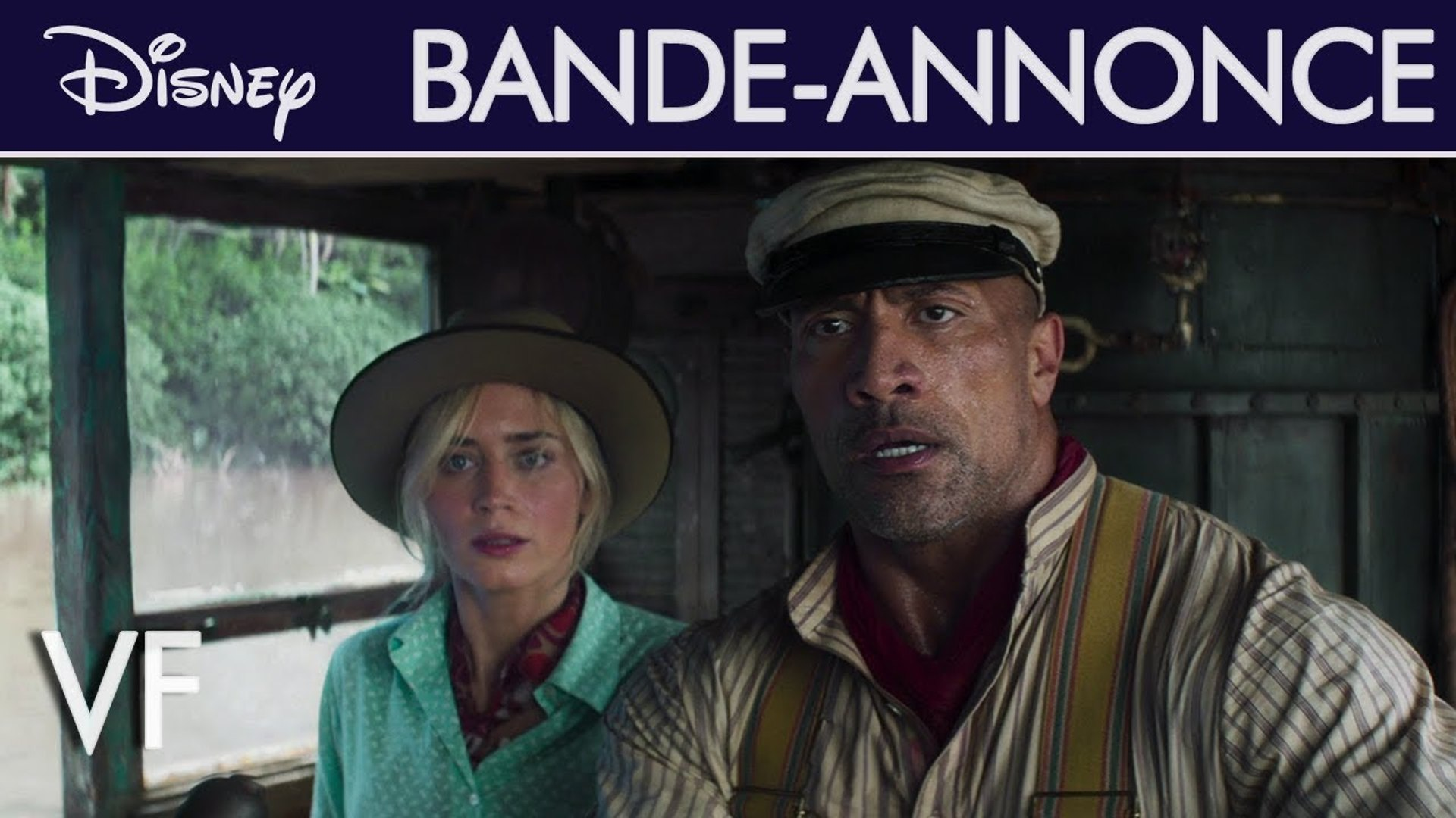 Jungle Cruise Bande-annonce VF (8) Dwayne Johnson, Emily Blunt Disney