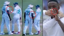 IND vs SA 2nd Test : Rabada And Quinton de Kock On Field Fight