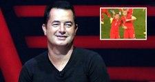 Acun Ilıcalı video çekerken Burak ve Emre Belözoğlu el salladı