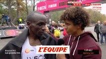 Kipchoge « Nous avons écrit l'histoire ensemble » - Athlé - Marathon