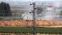 Şanlıurfa-terör mevzileri obüs atışlarıyla vuruldu