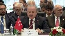 3. Parlamento Başkanları Konferansı - TBMM Başkanı Mustafa Şentop (2)