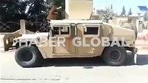 Resulayn'da terör örgütünün zırhlısı ele geçirilerek Suriye Milli Ordusu'na verildi