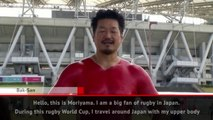 Japanese rugby fan takes support to another level