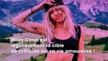 Critiquée sur sa vie amoureuse, Miley Cyrus se défend - titre insta : Miley Cyrus : vivement critiquée sur sa vie amoureuse, elle sort du silence et se défend !
