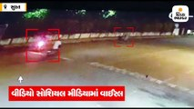 સુરતમાં બે વિદ્યાર્થિનીઓની બહાદૂરીના CCTV ફૂટેજ, મોબાઈલ સ્નેચરનો સામનો કર્યો