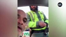 Detenido el hombre que se grabó insultando a la Guardia Civil de Tráfico