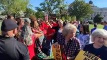 Jane Fonda arrêtée lors d'une manifestation pour le climat à Washington