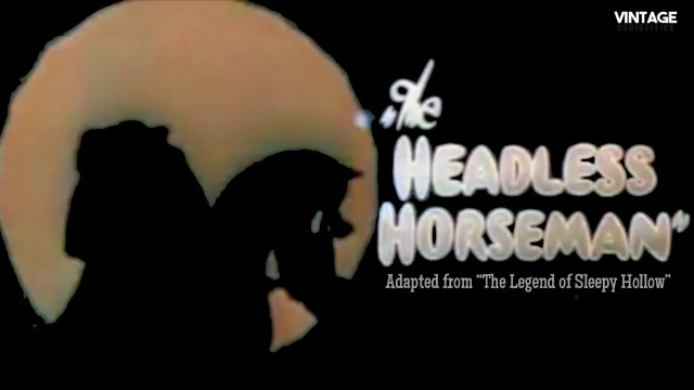 Headless Horseman (1934 Ub Iwerks ComiColor Cartoon)