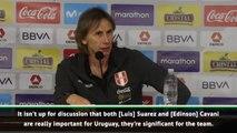 Uruguay attacking talent goes beyond Suarez and Cavani - Gareca