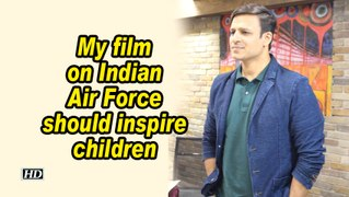 Vivek Oberoi: My film on Indian Air Force should inspire children