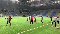 Entraînement des Diables rouges au Kazakhstan