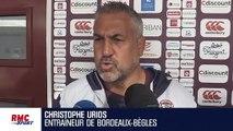"""Top 14 : """"Qu'on ait de la frustration, de la déception après les matches, je n'en ai rien à foutre"""" lâche Urios"""